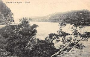 Natal South Africa Umzimkulu River Scenic View Antique Postcard K23543