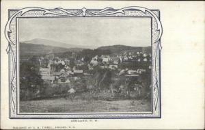 Ashland NH Birdseye View c1910 Postcard