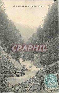 Old Postcard Flumet Road Arly Gorge