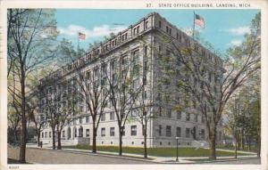 Michigan Lansing State Office Building 1920