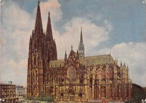 Cologne on the Rhine Cathedral South Side Koeln am Rhein Dom Suedseite