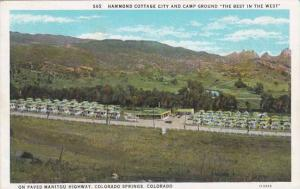 Colorado Colorado Springs Hammond Cottage City & Camp Ground