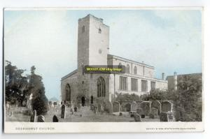 cu0277 - Deerhurst Church , Gloucestershire - postcard