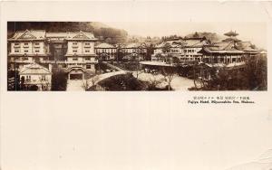 <A10> FOREIGN Postcard JAPAN 1934 Real Photo RPPC MIYANOSHITA Fujiya Hotel