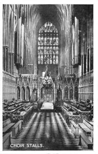 Westminster Abbey, Choir Stalls