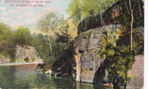 Entrance To Half Moon Bay, ST. LAWRENCE RIVER, Ontario, Canada, 1900-1910s