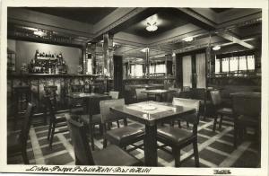 portugal, LISBON LISBOA, Parque Palacio Hotel, Bar do Hotel (1950s) RPPC