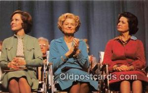 Women's Right Postcard Presidential Wives
