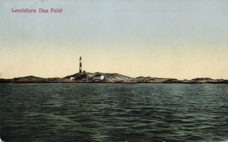 german south-west africa, Namibia, LÜDERITZ, Diaz Point Lighthouse (1929)
