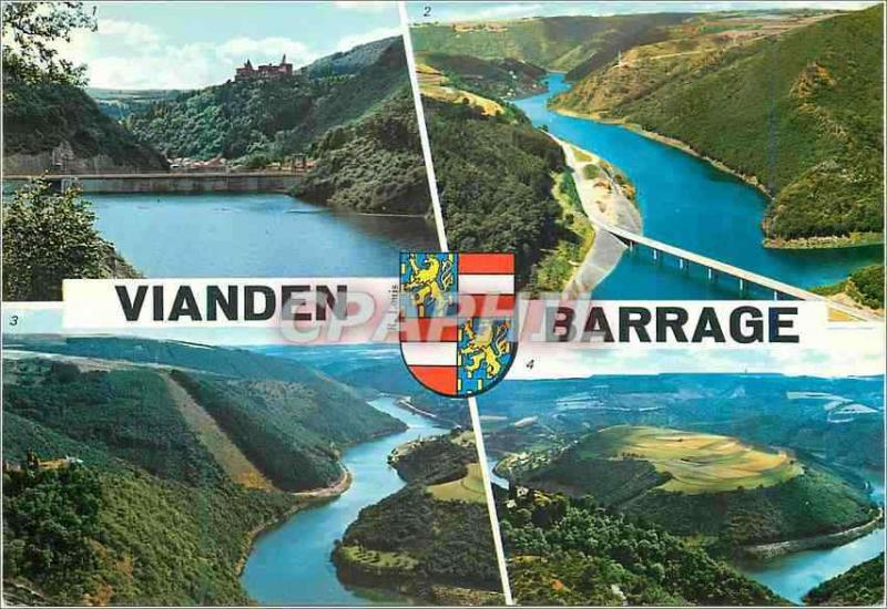 Modern Postcard Vianden Stopping of Our