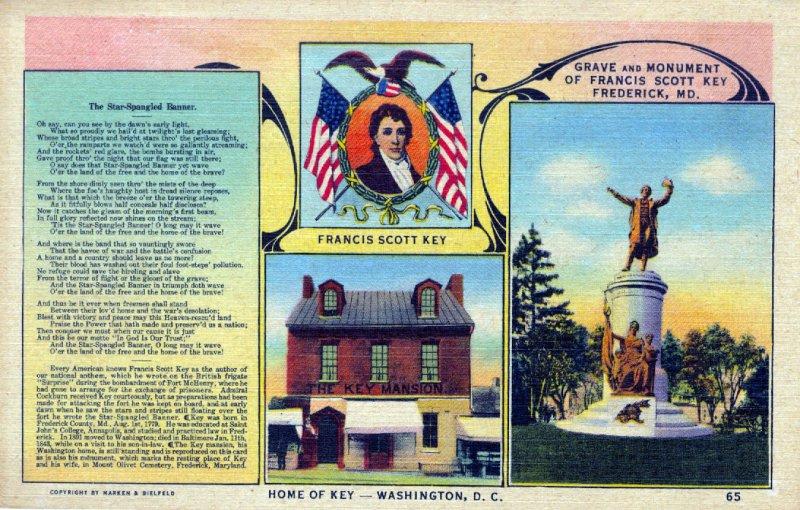 [ Linen ] US Washington, D.C. - Francis Scott Key Home (2)