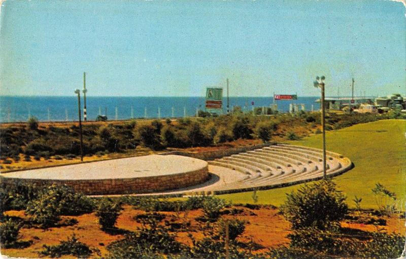 BR51873 The amphitheatre at Bat yam Israel