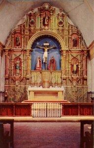 CA - Carmel. Mission San Carlos Borromeo, Main Altar