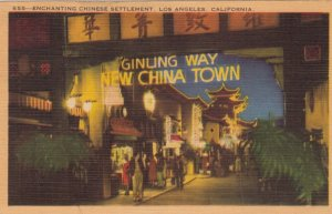 LOS ANGELES, California, 1930-40s; CHINATOWN, Enchanting Chinese Settlement
