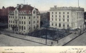 Post Office Square Lincoln NE 1907