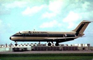 Eastern Airlines Douglas DC9-14 Landing At Miami International Airport