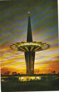 Oklahoma Tulsa Oral Roberts University 200 Foot Prayer Tower