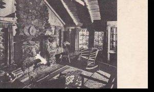 Vermont Rutland Long Trail Lodge LIving Room Ledges Cabin Albertye