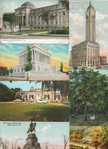 USA Virginia Maryland Rode Island California And More Postcard Lot of 30 01.04