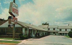 Cedar City, Utah, UT, Zion Motel, Highway 91, Chrome Vintage Postcard g9238