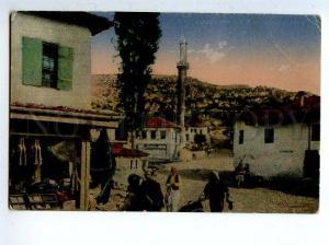 130237 SKUTARI Albania SHKODER Bazaar Street Market Vintage PC