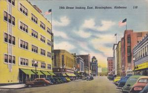 BIRMINGHAM , Alabama, 1930-40s ; 19th Street looking East