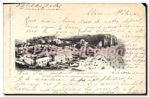 Postcard Old Petites Dalles Generale Panoramic View