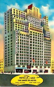 New York City Hotel Dixie 1969