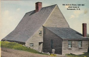 PORTSMOUTH, New Hampshire, 1900-1910's; Old Jackson House