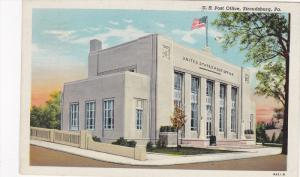 U. S. Post Office, Stroudsburg, Pennsylvania, PU-1948