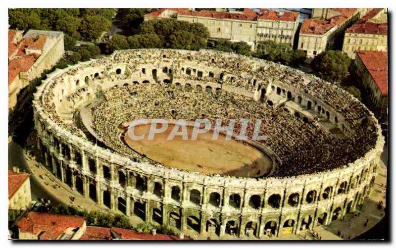 Modern Postcard Nimes Gard arenas