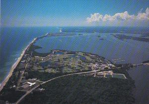 Aerial View South Hutchinson Island Stuart Florida