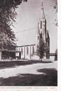 Illinois Amboy St Patrick's Catholic Church 1957
