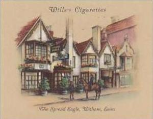 Wills Cigarette Card 2nd Series No 30 Spread Eagle Witham Essex