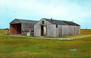North Carolina Kitty Hawk Wright Brothers 1903 Camp Buildings 1903 Reproduced
