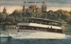 Thousand Islands Gananoque & Clayton NY Yacht Boat  American Adonis PC
