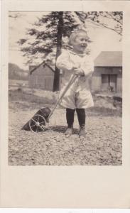 RP: Girl w/ Toy wagon , USA , 00-10s