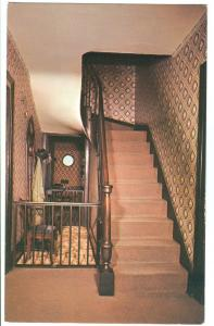 Original Walnut Stairway, Abraham Lincoln's Home Springfield