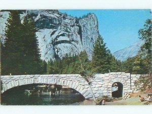 Pre-1980 RIVER SCENE Yosemite Park - Near Stockton & Modesto CA AE6115@