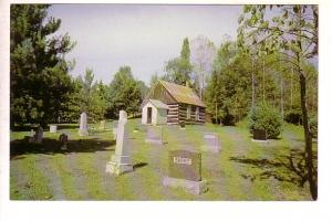 Bethel Log Church and Graveyard, Blairhampton, Ontario, Hubbert Photography