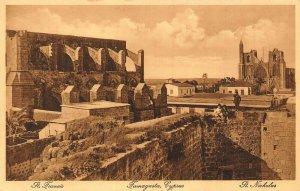 Cyprus Famagusta St Francis postcard