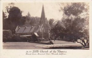 California Glendale Little Church Of The Flowers Real Photo