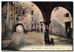 Postcard Old Vence Portal of I & # 39ancien Eveche