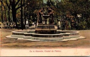 Mexico Ciudad En La Alameda