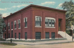 CONCORD, New Hampshire, 1900-1910s; New England Tel. & Tel. Co. Building