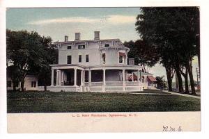 LC Nash Residence, Ogdensburg, New York