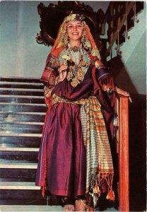 CPM AK Mahida Costume traditionnel de MAHDIA TUNISIE (751492)