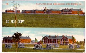 Barracks Fort Des Moines IA