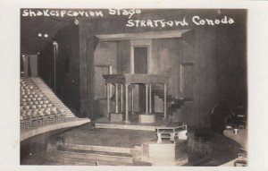 RP: STRATFORD , Ontario , Canada , 1930s-40s ; Shakespearian Stage