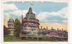 Exterior, Battery Park Hotel, America's Beauty Spot, Asheville, North Carol...